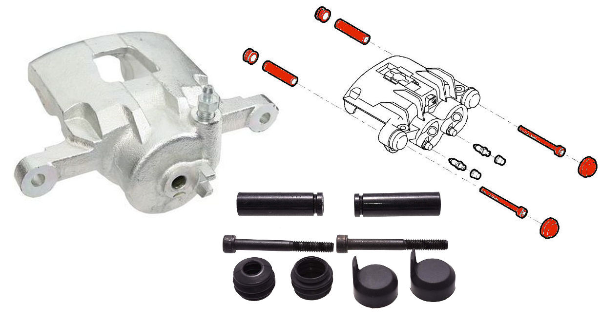 Brake Calipers & Parts