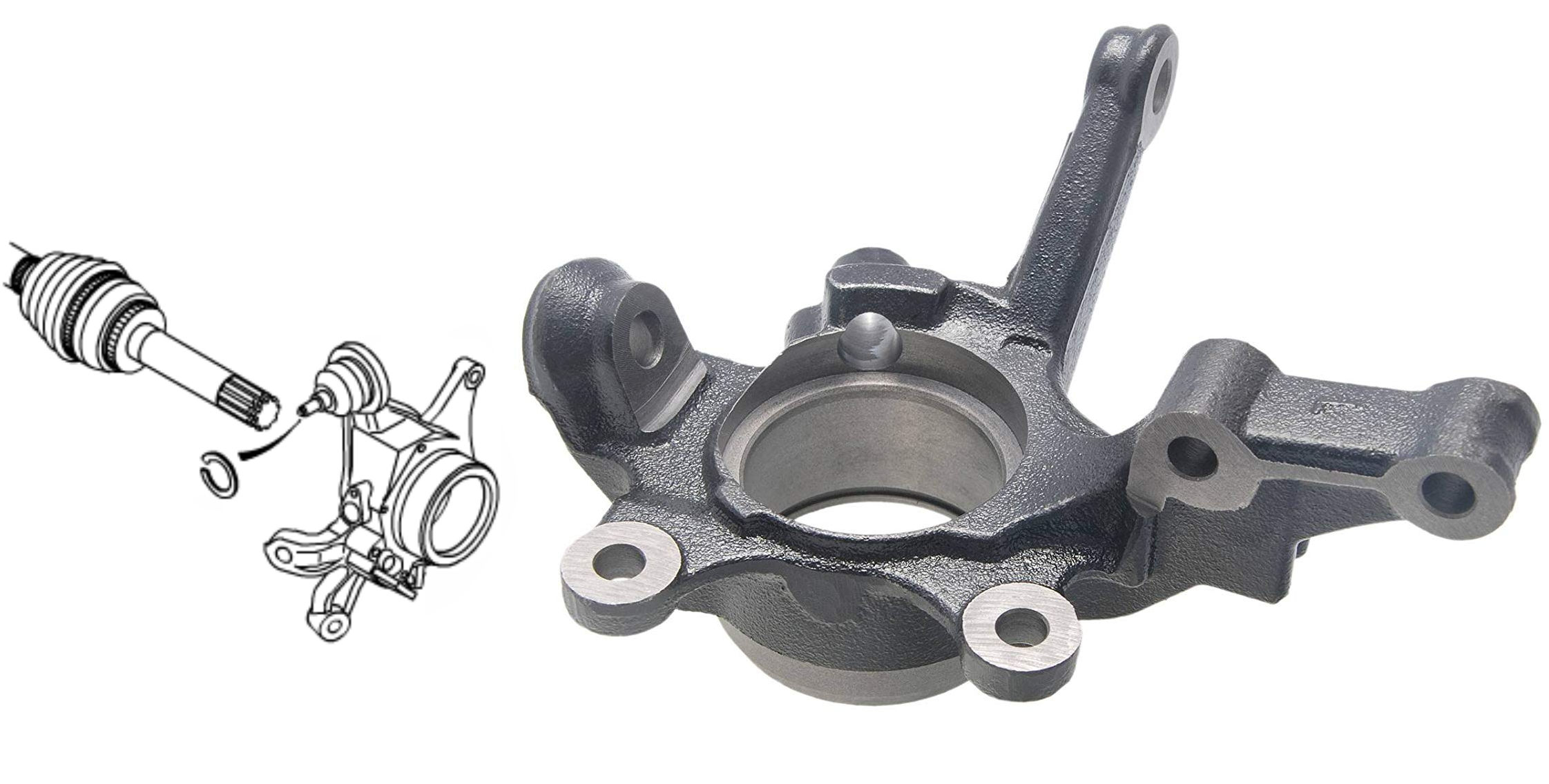 Steering Knuckle & Parts