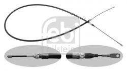 Front Handbrake Cable FEBI BILSTEIN 01667-21