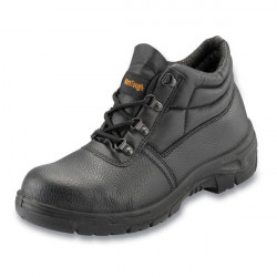 Safety Chukka Boots Black UK 10-20