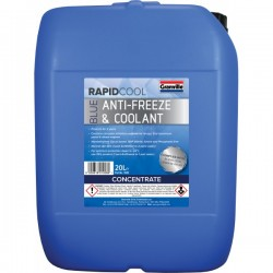 Rapid Cool Blue Anti Freeze Concentrate 20L-20