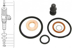 Diesel Injector Seal Kit for Audi A2, A3, A4, A6, Skoda Fabia, Octavia, Roomster, Superb - BOSCH