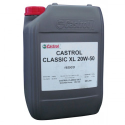 Castrol Classic Engine Oil XL20W50 20 Litre (For pre-1980 classic cars and motorcycles)-20