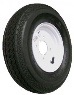 Trailer Wheel and Tyre 400mm x 8in.-21