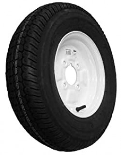 Trailer Wheel and Tyre 500mm x 10in.-21