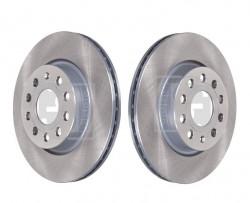 Front Pair of 2x Brake Discs FEBI BILSTEIN 22904-21