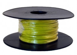 1 Core Thin Wall Cable 1 x 32/0.2mm Yellow 50m-21