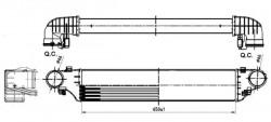 Intercooler NRF 30164A-20