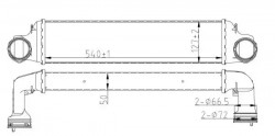 Intercooler NRF 30165A-20