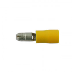 Wiring Connectors Yellow Male Bullet 5.0mm Pack Of 100-20