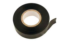 PVC Insulation Tape Black 19mm x 20m Pack Of 50-21
