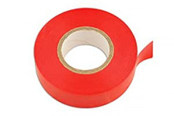PVC Insulation Tape Red 19mm x 20m Pack Of 10-21