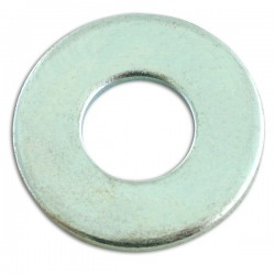 Zinc Plated Washers Form C Flat M14 Pack Of 100-20
