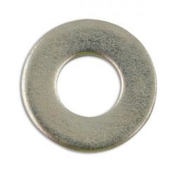 Zinc Plated Washers Table 4 Flat 1/4in. Pack Of 500-20