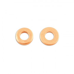 Copper Washers Injection 16.0mm x 7.5mm x 1.5mm Pack Of 50-20