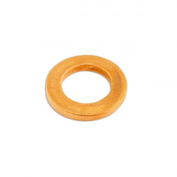Copper Washers Sealing M8 x 14.0mm x 1.0mm Pack Of 100-20