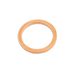 Copper Washers Sealing M18 x 22.0mm x 1.5mm Pack Of 100-20