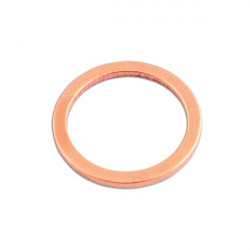 Copper Washers Sealing M24 x 30.0mm x 2.0mm Pack Of 100-20