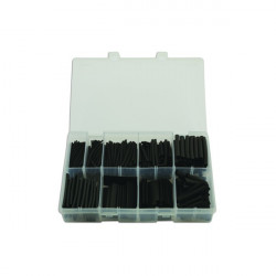 Heat Shrink Tubing Black 50mm Assorted Box Qty 350-20