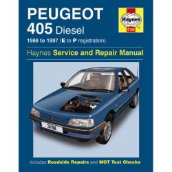 Peugeot 405 Diesel (88 97) E to P Reg Car Manual-20