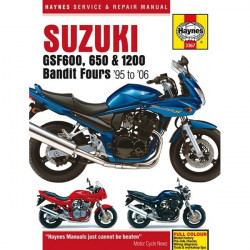 Motorcycle Manual Suzuki GSF600, 650 and 1200 Bandit Fours (1995-2006)-20