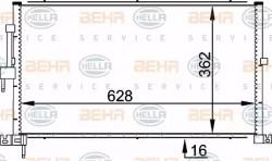 Air Con Condenser HELLA 8FC 351 318-311-21