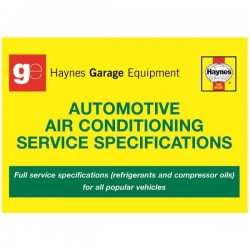 Haynes Technical Guide Automotive Air Conditioning Service Specifications-20