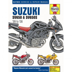 Motorcycle Manual Suzuki SV650 and SV650S (1999-2005)-20