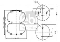 Air Suspension Boot FEBI BILSTEIN 39420-20