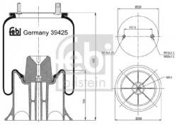 Air Suspension Boot FEBI BILSTEIN 39425-20