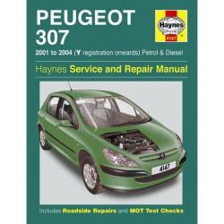 Peugeot 307 Petrol and Diesel (01 08) Y to 58 Reg Car Manual-20