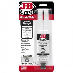 J-B Weld Minute Weld Syringe Pack of 6-20