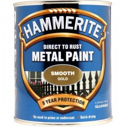 Direct To Rust Metal Paint Smooth Gold 250ml-20