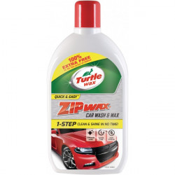 Zip Wax Wash and Wax 500ml with 100% Extra Free-20