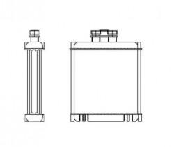 Heat Exchanger NRF 53558-20