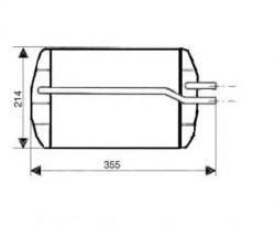 Heat Exchanger NRF 53633-20