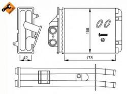 Heat Exchanger NRF 53641-20