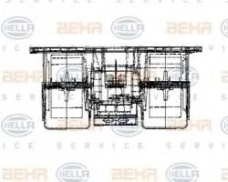 Interior Blower for Renault Trucks Magnum AE, E.Tech HELLA 8EW009160-721-21