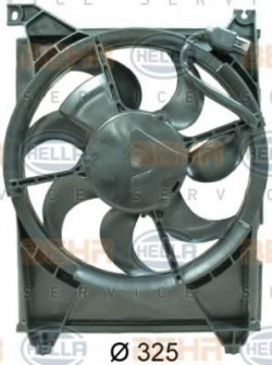 Fan, A/C condenser HELLA 8EW 351 034-701-21
