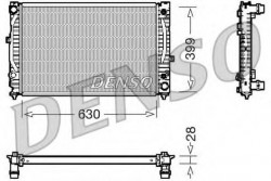 Radiator, engine cooling for Audi, Skoda, VW DENSO DRM02031-21