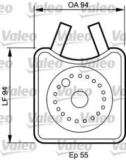 Oil Cooler VALEO 817943-20
