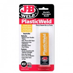 J-B Weld Plastic Weld Epoxy Putty Stick Pack of 6-20