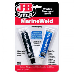 J-B Weld Marine Weld 2 Part Epoxy Blister Pack Pack of 6-20
