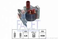 Ignition Coil FACET 9.6078-21