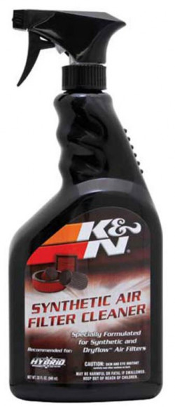 K + N SYNTHETIC AIR FILTER CLEANER 32OZ SPRAY 99-0624-21