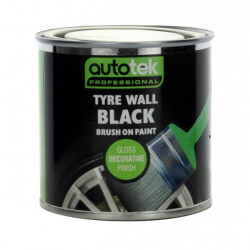 Tyre Wall Black 250ml-20