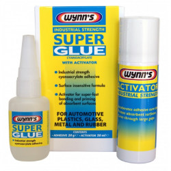 Industrial Strength Super Glue with Activator 20g Bottle-20