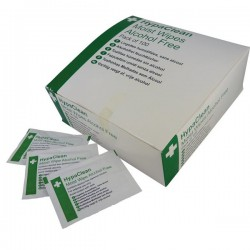 HypaClean Alcohol Free Moist Wipes Pack of 100-20