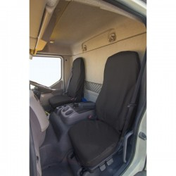 Truck Seat Cover Passenger Black DAF LF 2012 Onwards-20