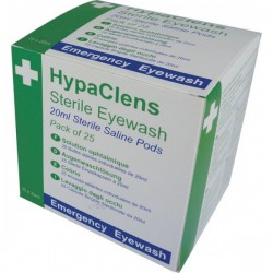 HypaClens Sterile Eyewash Pods 25 x 20ml-20